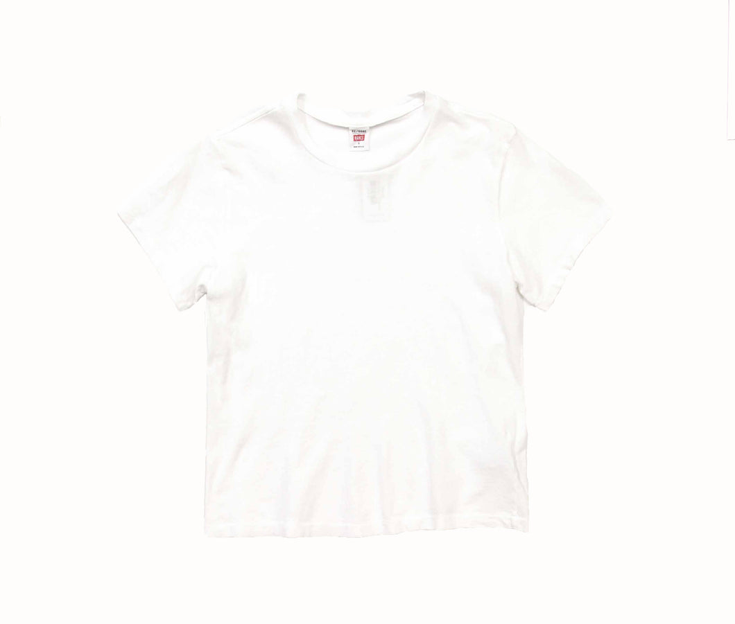 Heritage Cotton Classic Tee in Optic White