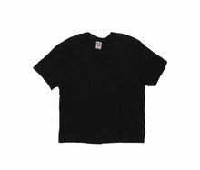 Load image into Gallery viewer, 1950's Boxy S/S Tee In Black