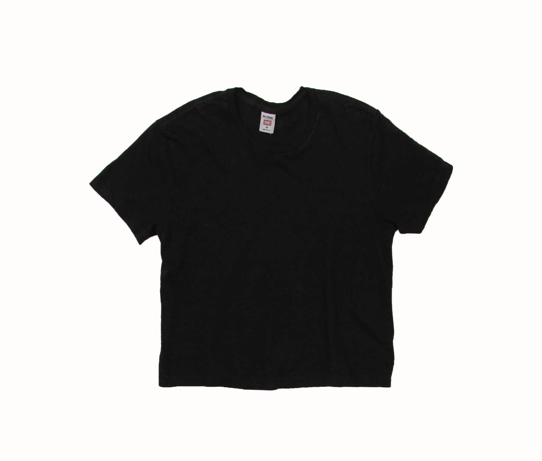 1950's Boxy S/S Tee In Black