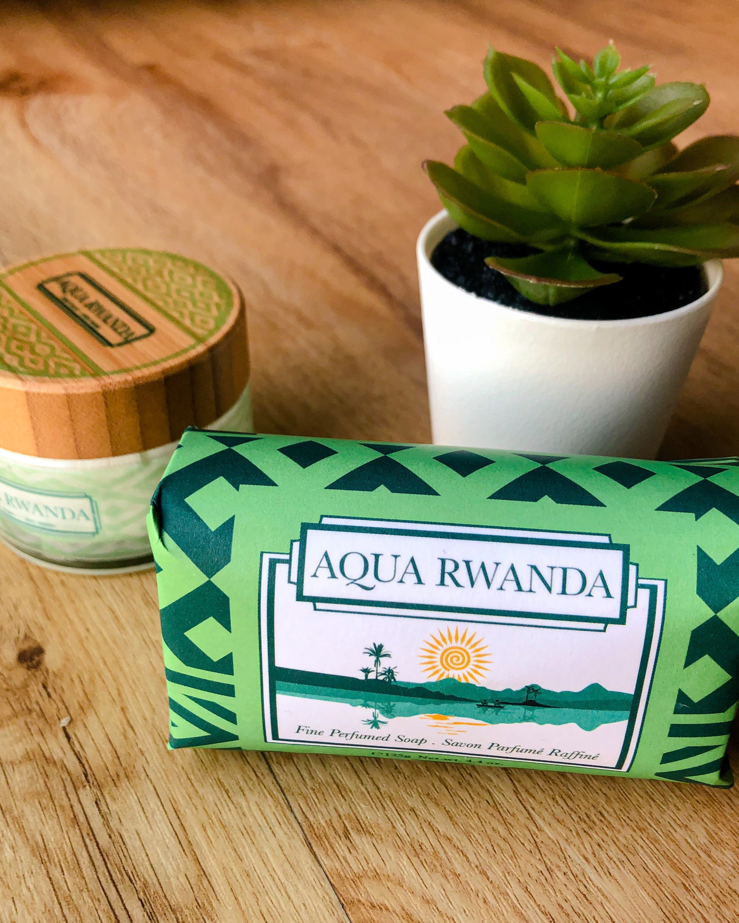 AQUA RWANDA Fine Perfumed Soap Bar (Pack of 3)