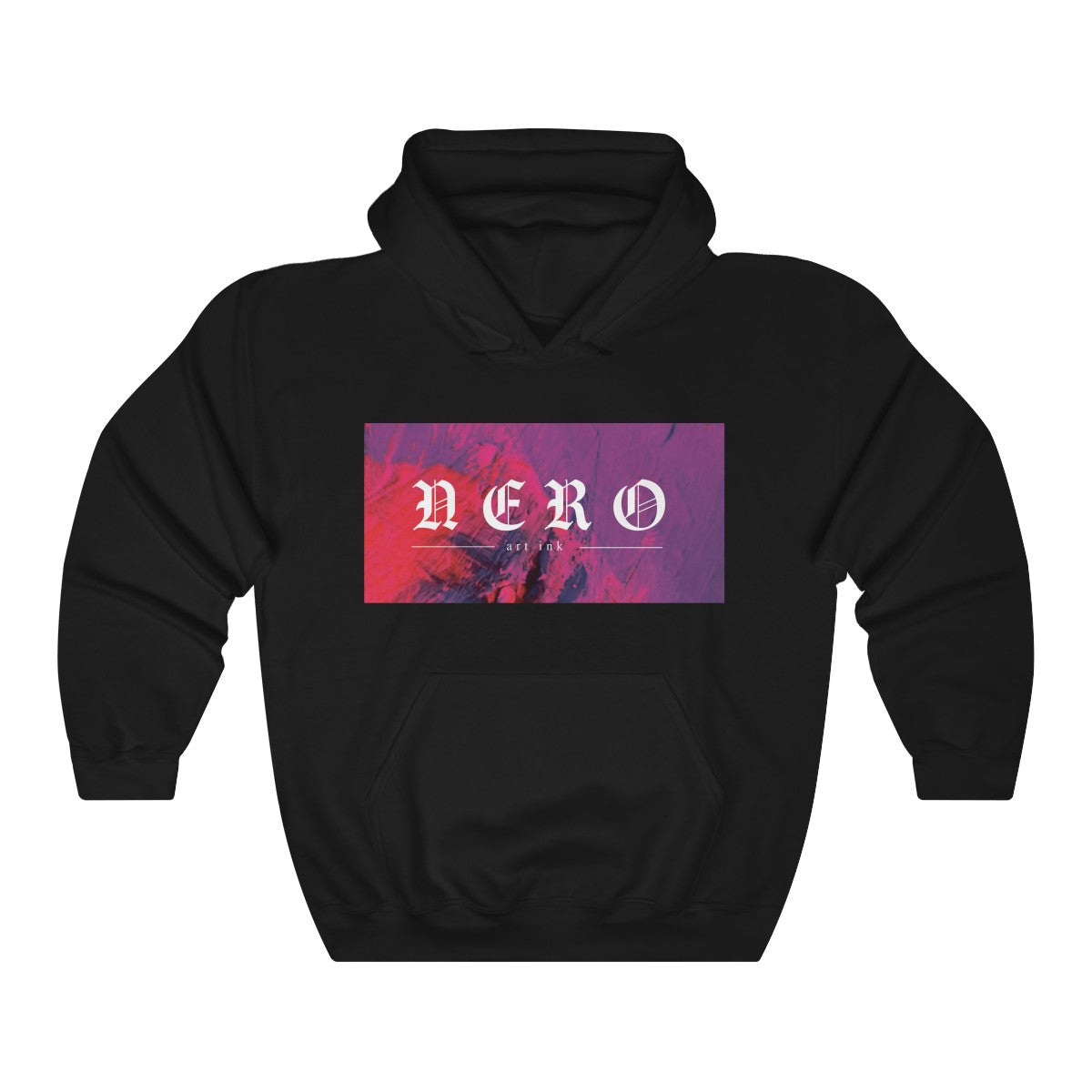 Nero abstract hoodie