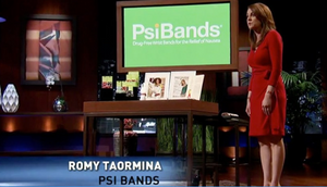 Shark Tank Spotlight on Romy Taormina, founder of PSI Bands - Powered by FSI