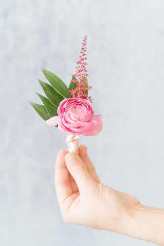 Berry Jewel: Boutonniere