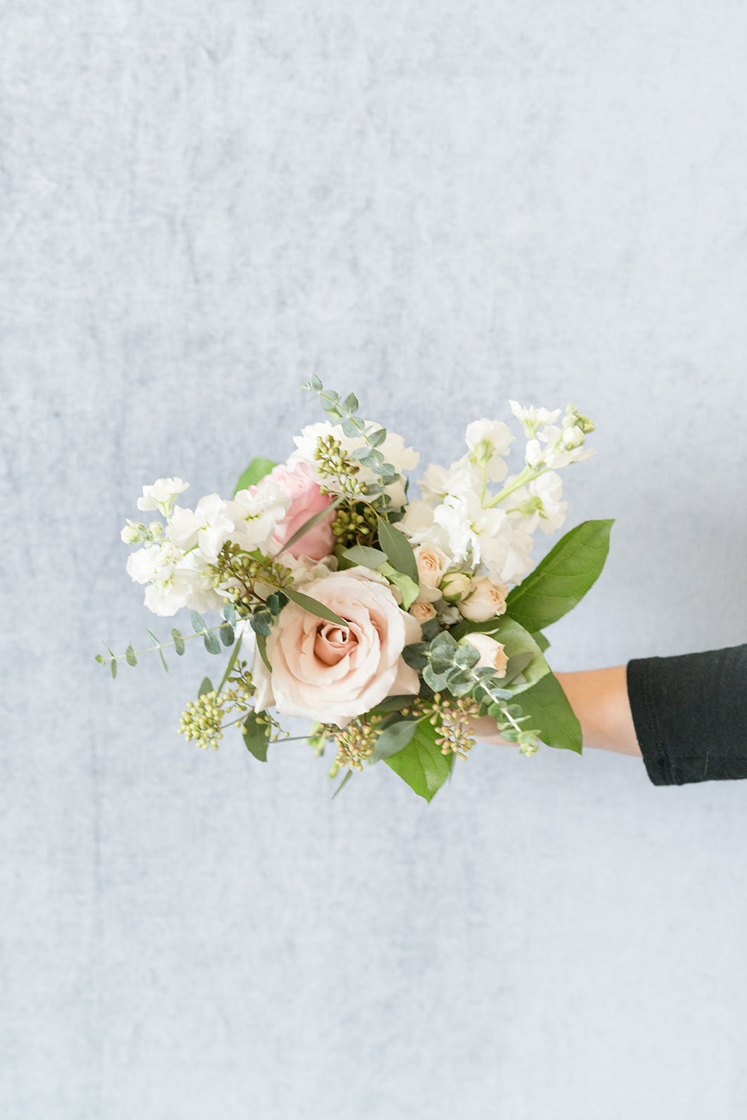 Blush and Cream: Posey Bouquet