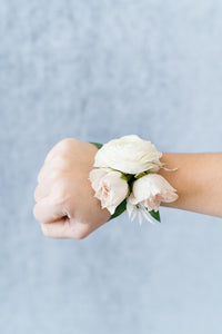 Blush and Cream: Corsage