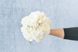 Classic White: Posey Bouquet