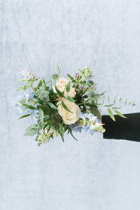 Something Blue: Posey Bouquet
