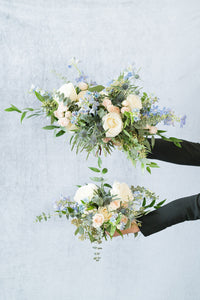 Something Blue: Bridesmaid Bouquet