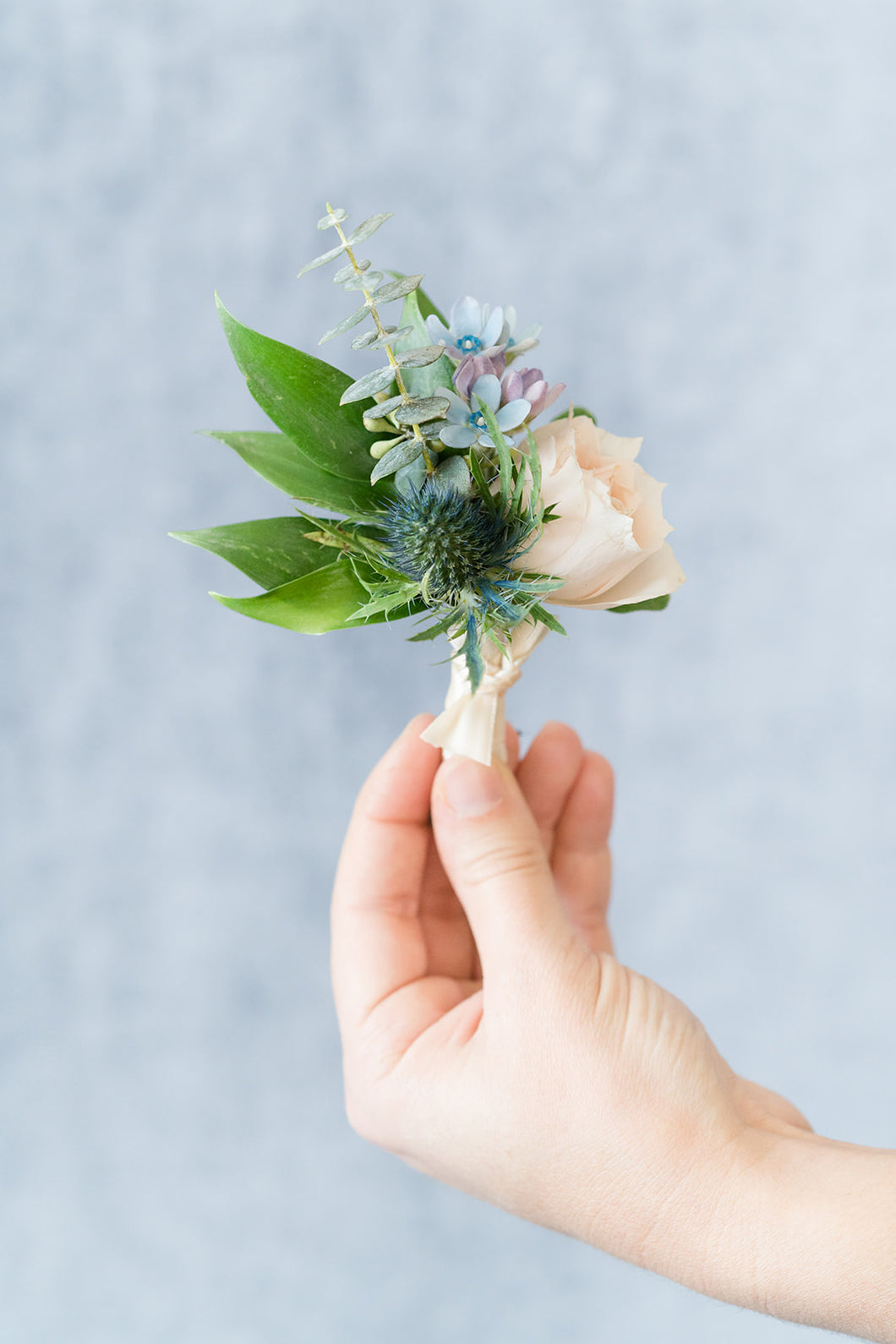 Something Blue: Boutonniere