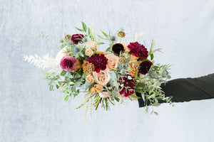 Fall Boho: Bridal Bouquet