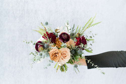Fall Boho: Bridesmaid Bouquet