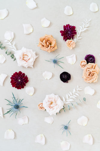 Fall Boho: Styling Blooms / Cake Florals