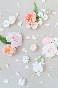 Pastel Dream: Styling Blooms / Cake Florals