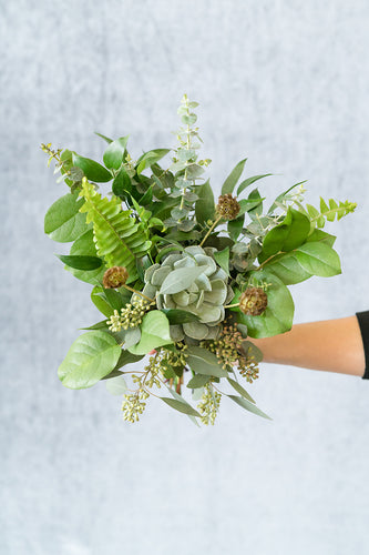 Greenery: Bridesmaid Bouquet