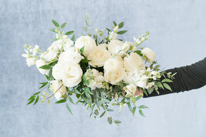 White Garden: Bridal Bouquet