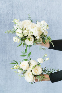 White Garden: Posey Bouquet