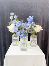 Load image into Gallery viewer, Something Blue: Bud Vase Set