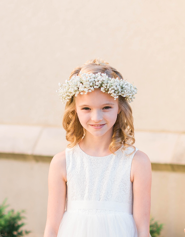 Baby Breath Flower Crown