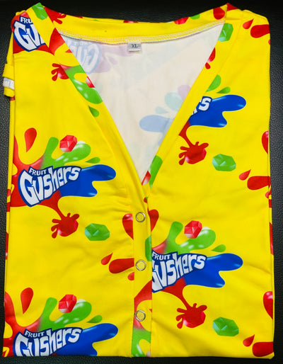 Gushers Mock Neck Onesie - Bodysuit for Women