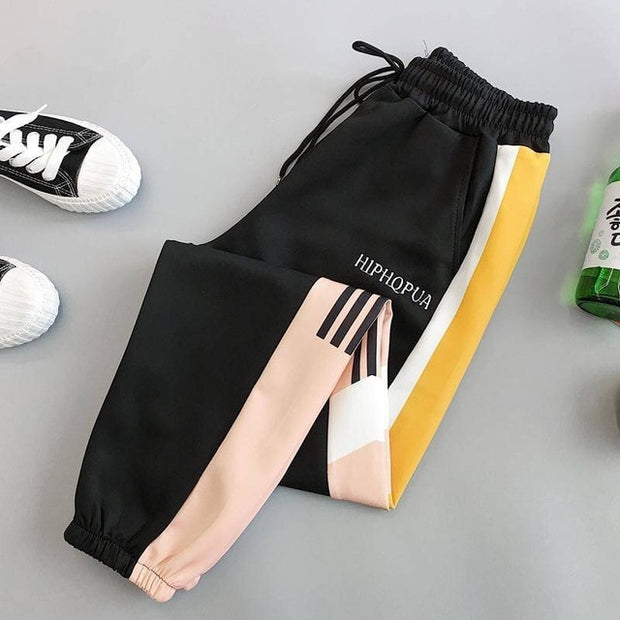 High Waist Pockets Joggers