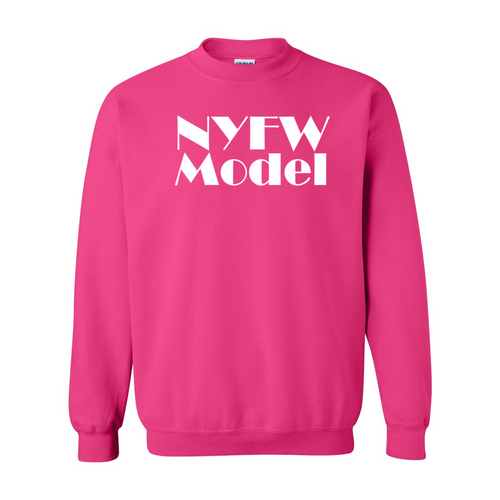 New York Fashion Week Model Sweatshirt
