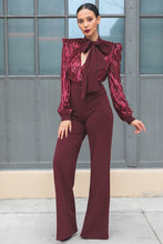 Load image into Gallery viewer, Gorgeous Shiny Lining Pattern Jumpsuit