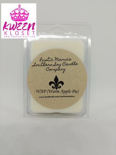 WAP (Warm Apple Pie) Soy Wax Melts Kween Kloset X Rustic Mama