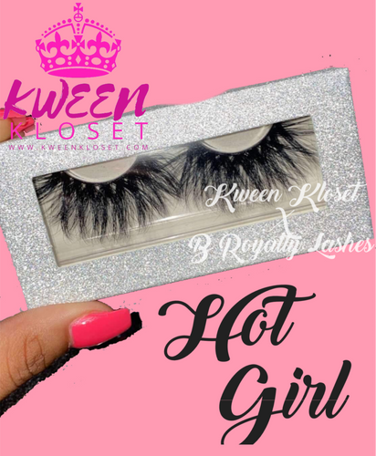 Kween Kloset X B Royalty Lash HOT GIRL