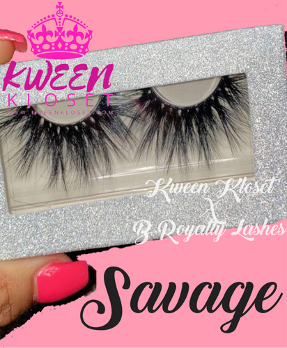 Kween Kloset X B Royalty Lash SAVAGE