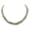 Beaded 20 Strand Caviar Necklace