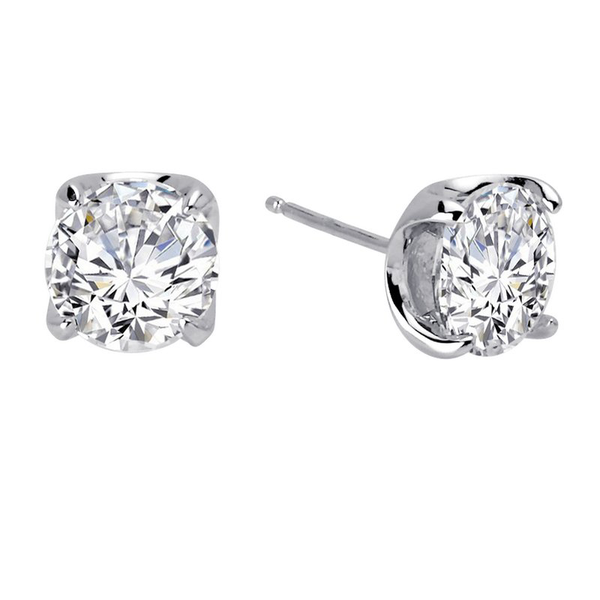 Cubic Zirconia Large Stud Earring