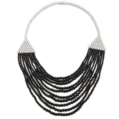Black Deco Necklace