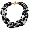 Black & White Bead Necklace