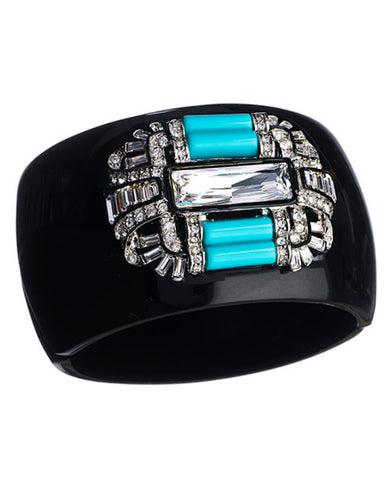 Deco Hinged Cuff