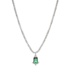 Emerald Drop Necklace