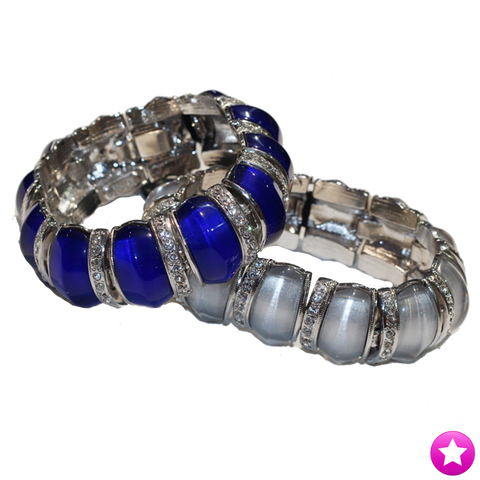 Crystal Resin Bangle