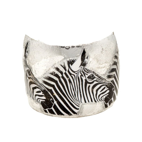 Three Zebras Cuff