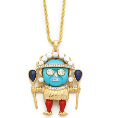 Medicine Man Pendant Necklace