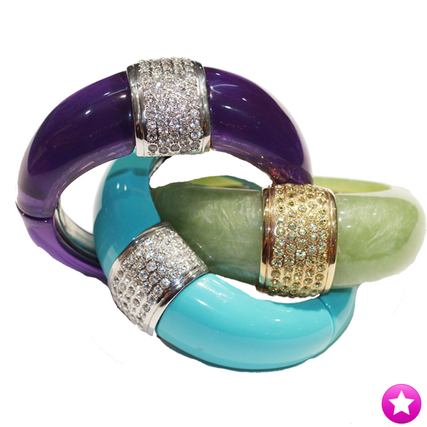 Banded Resin Bangle