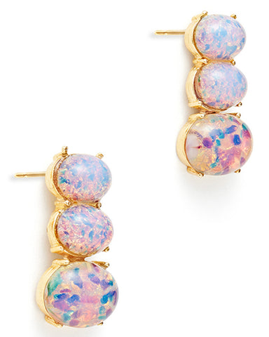 Opal Totem Earrings