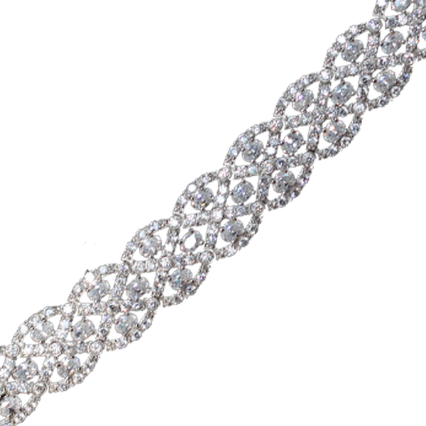 Braided Tennis Bracelet Bracelet