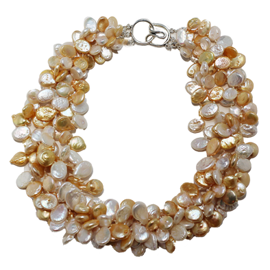 Sunrise Pearl Necklace