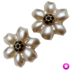Pearl Flower Earrings