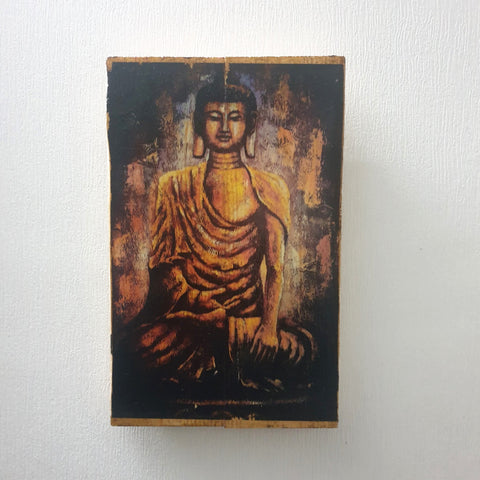 Buddha Head Wall Art Image Transfer - Totally Buddha