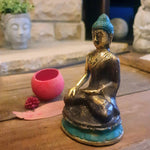 Brass Sitting Buddha Ornament - Totally Buddha