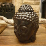 Buddha Head Wax Melt / Oil Burner - Brown - Totally Buddha
