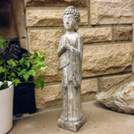 Cement / Concrete Standing Buddha Ornament Statue - Totally Buddha