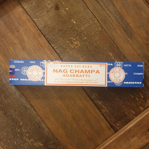 Nag Champa Incense Sticks - 15g pack - Totally Buddha