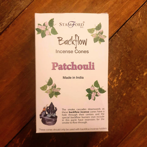 Backflow Burner Cones - Patchouli - Totally Buddha