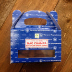 Backflow Burner Cones - Satya Nag Champa - Totally Buddha